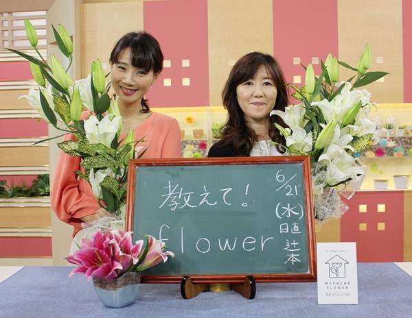 NHKはっけんTVでうきは市のユリ...